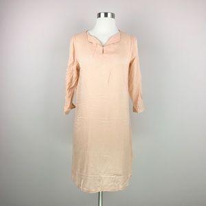 NWT Melange Thin Peach Shift Dress Swim Cover Up S